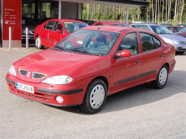 Renault Megane 1.6 16v Tyyppiviat