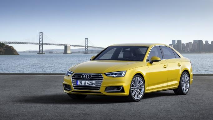 Lisää kuumia autojulkistuksia - nyt vuorossa Audi A4