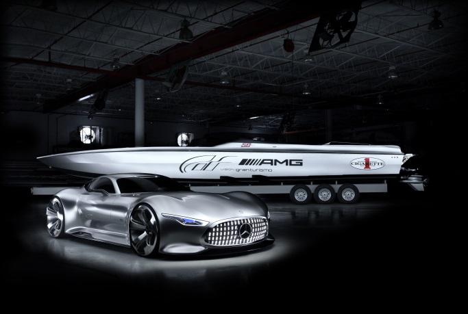 Mercedes-AMG innostaa veneentekijöitäkin