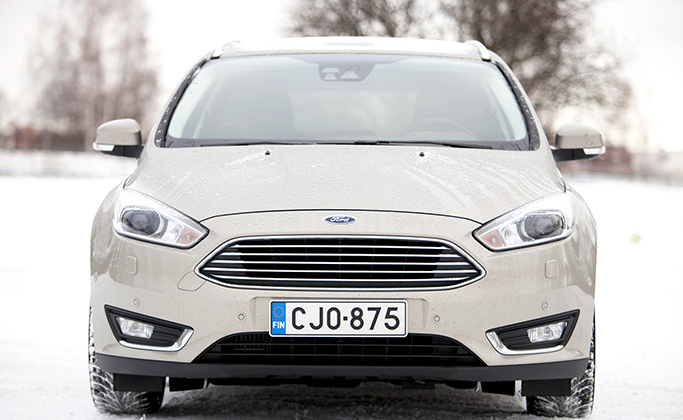 Koeajo: Ford Focus 1.0 M6 125 hv Titanium Wagon