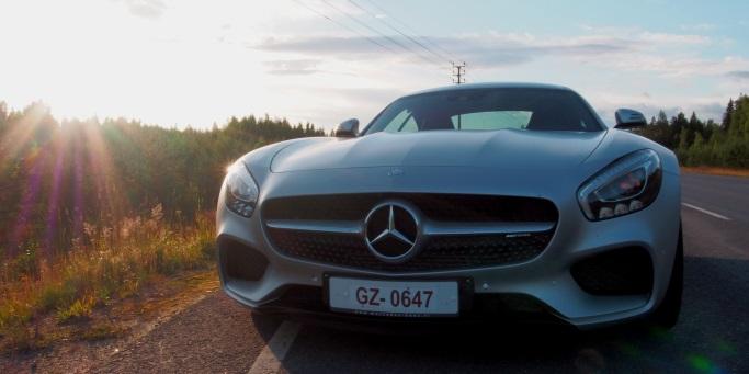 Tehoa säästämättä - Mercedes-AMG GT S