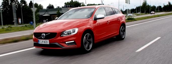 Myös Autotie koeajoi Kehäradan - sekä Volvo V60 plug-in -hybridin