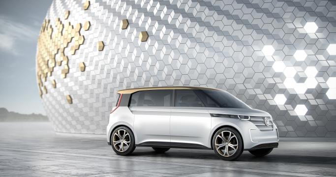 Sittenkin uusi Kleinbus - Volkswagen esitteli Budd-e -konseptin