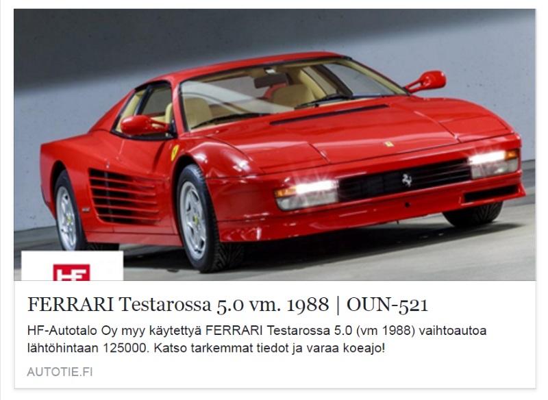 Autotie keräilysarja: 80-luku