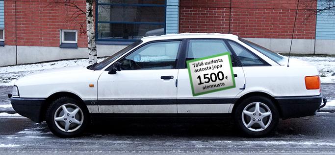 Romut rahaksi - romutuspalkkiolla jopa 1500 euron hyöty uuden auton hankintaan